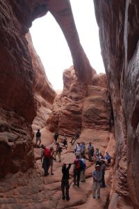 Fiery Furnace - Arches NP - Oregon Hikers