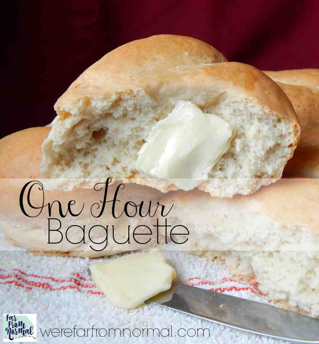 One Hour Baguette