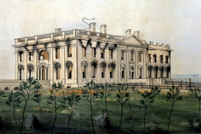 The President's House. George Munger, c. 1814-1815