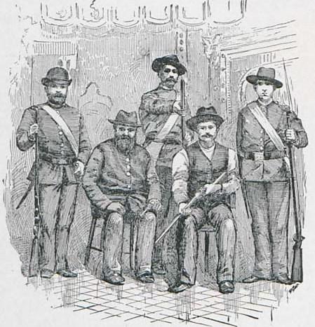 A Group of the Lehr Und Wehr Verein
