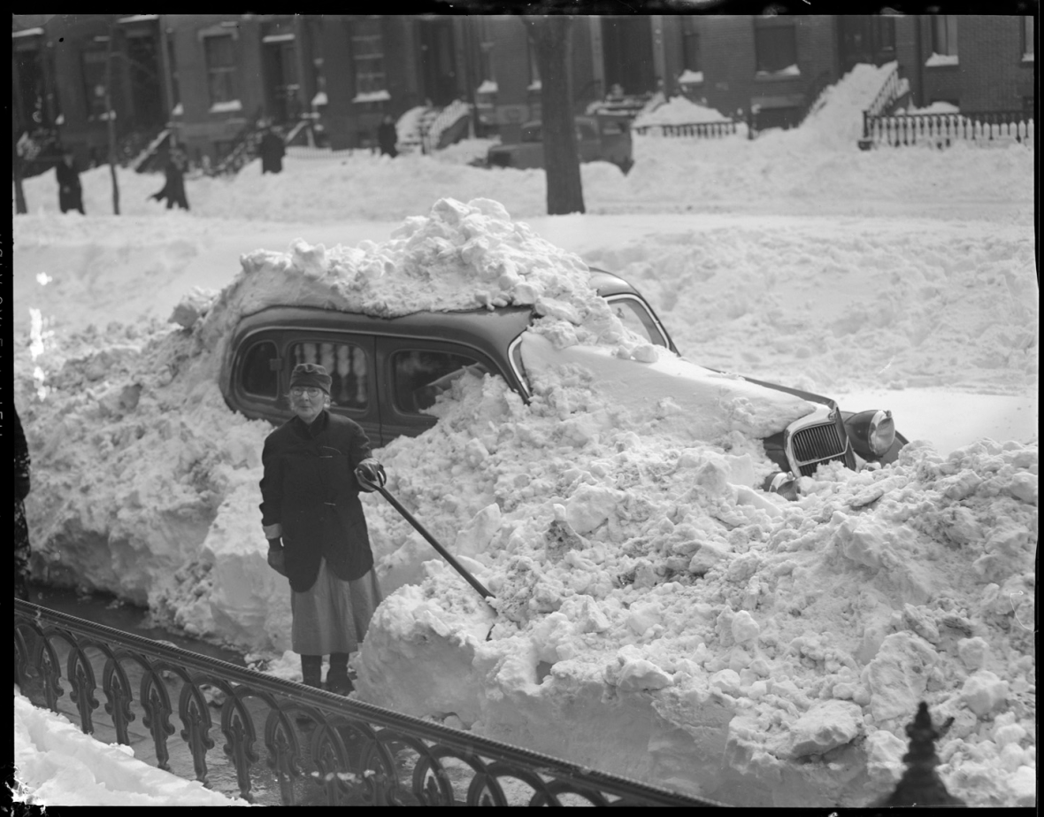 Digging out auto
