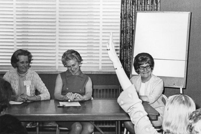 Sandra Wesley, Betty Preston and Edee Greene