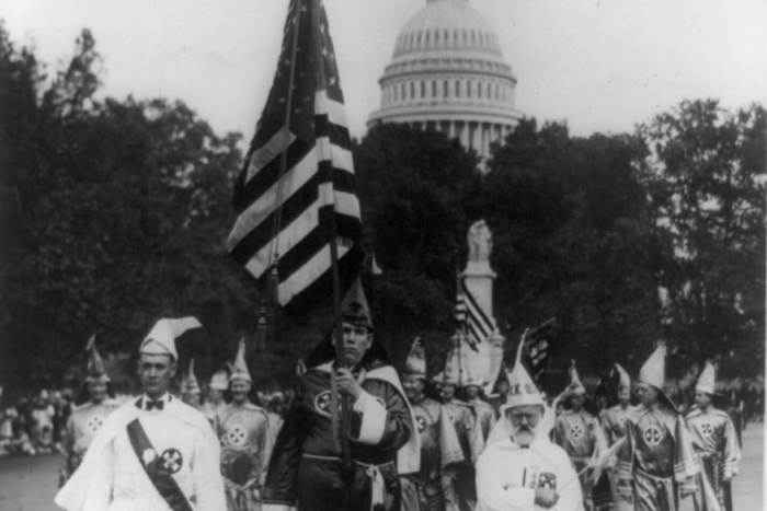 KKK parade in Washington, DC