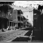 Royal Street, New Orleans, 1900. (via Library of Congress)
