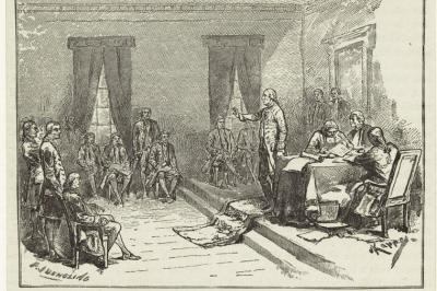 1797 Constitutional Convention in Philadelphia