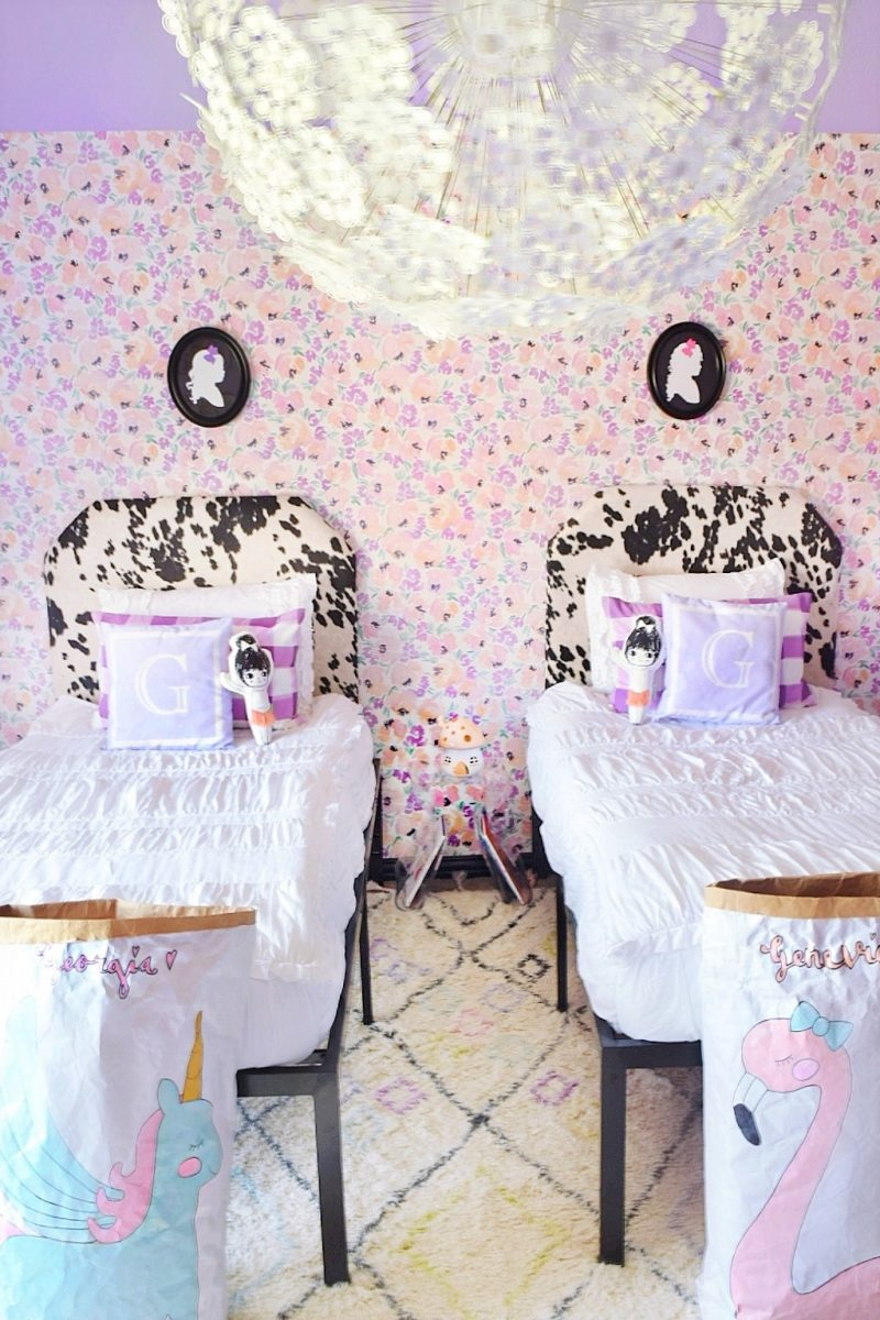 Little Girls Bedroom For Genevieve Georgia A Whimsical Chic Makeover We Re The Joneses