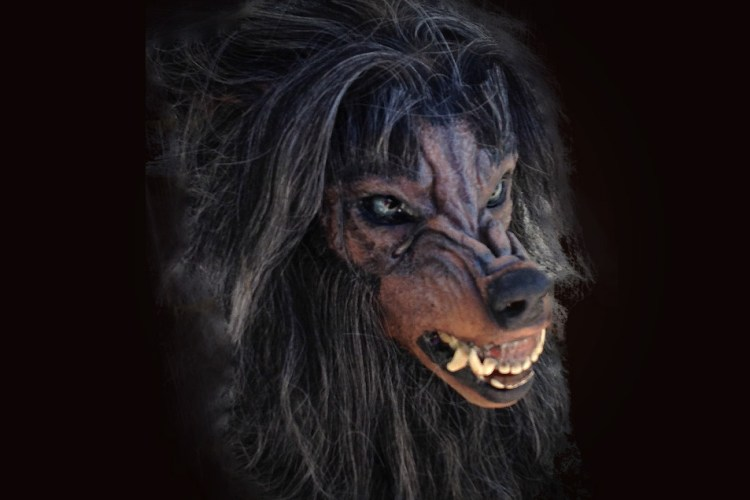 Horror Dome Bad Moon Werewolf Mask