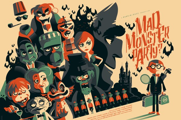 Tom Whalen Mad Monster Party variant