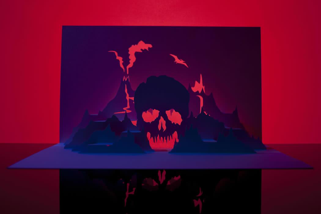 Horrorgami Howler Skull Island