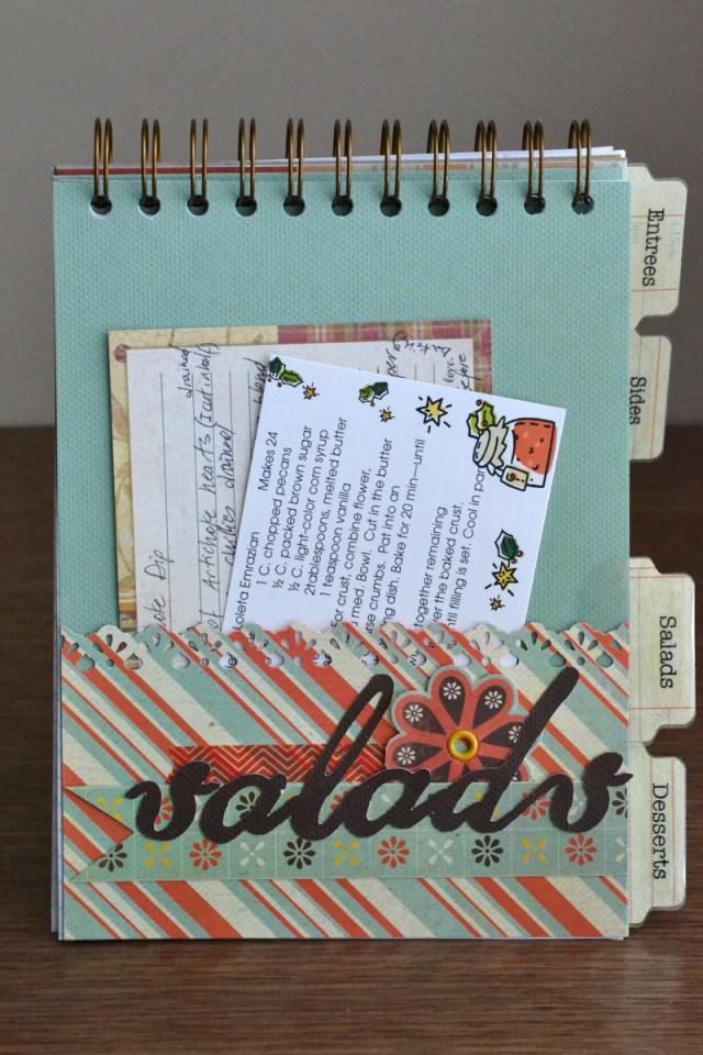 recipe card covers