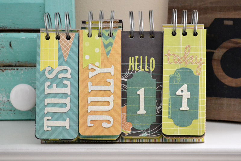 Cinch Kit Perpetual Calendar We R Memory Keepers Blog