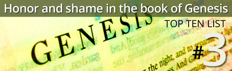 honor and shame in the book of genesis3