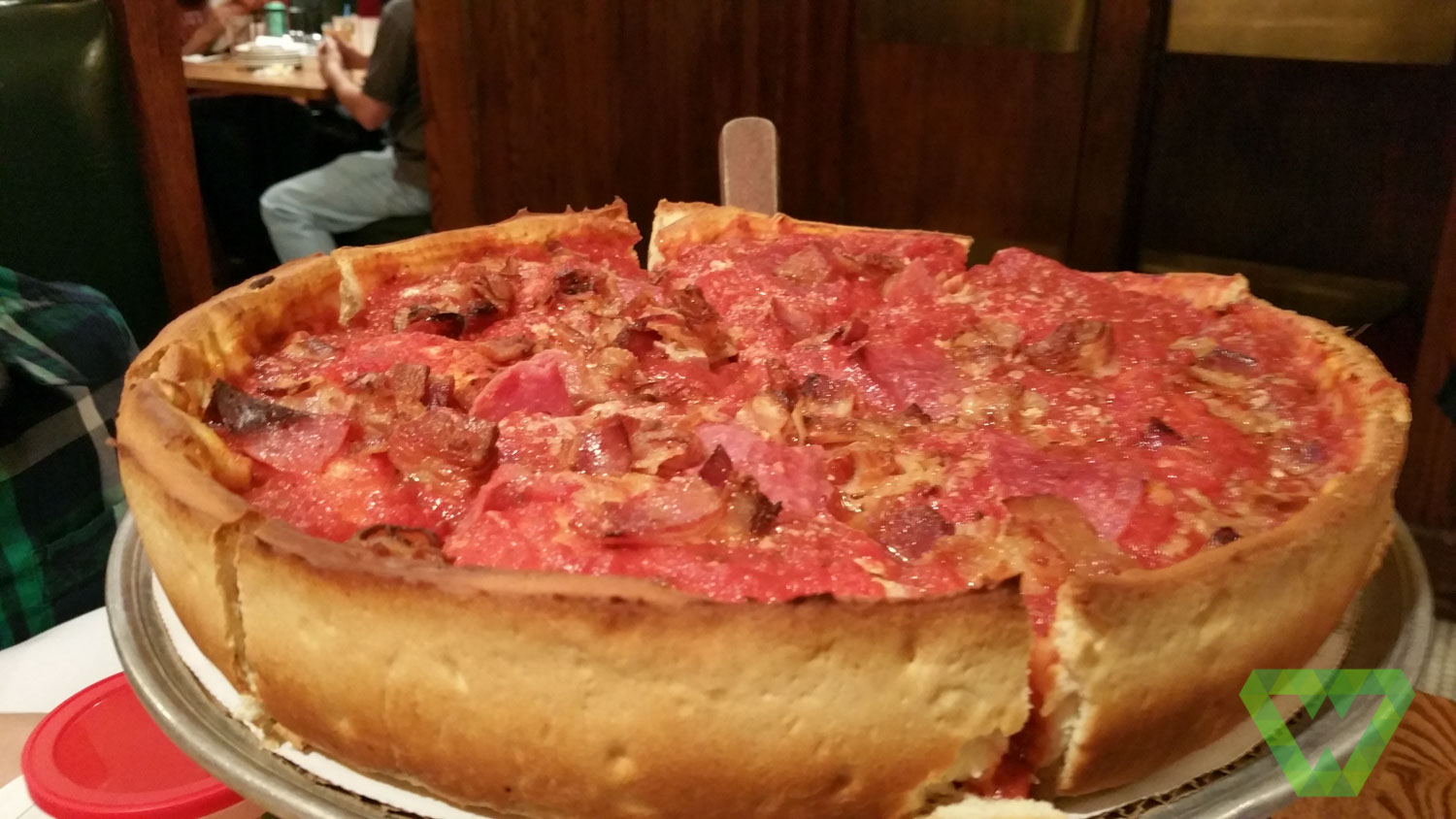 Chicago 2011 Part 3 - Pizzeria Uno, Giordano's - Dining Out ...