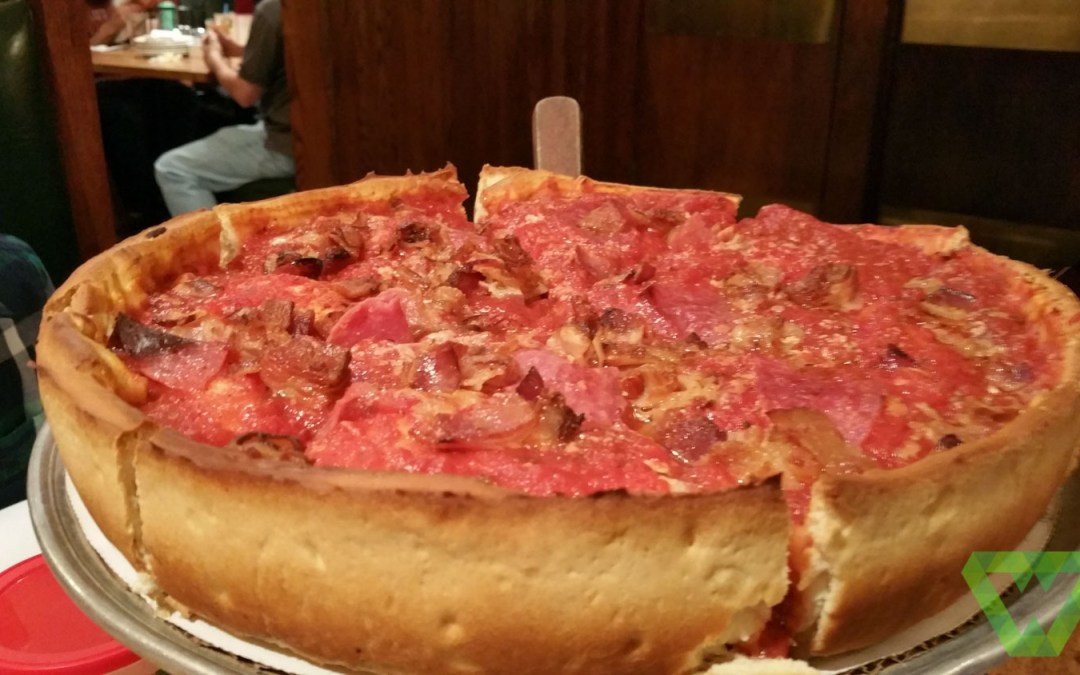 Giordano's is a pizzeria founded in and based in Chicago, Illinois that specializes in Chicago-style stuffed pizza.