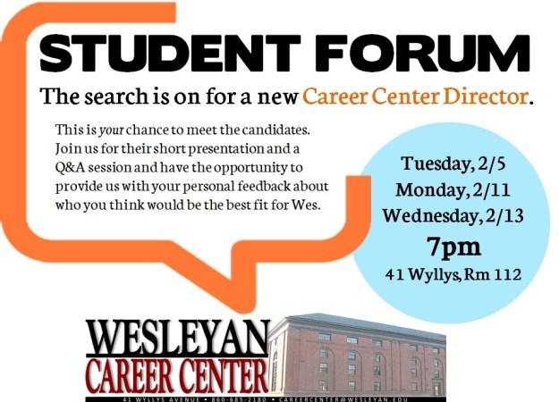 Student Forum CC Director