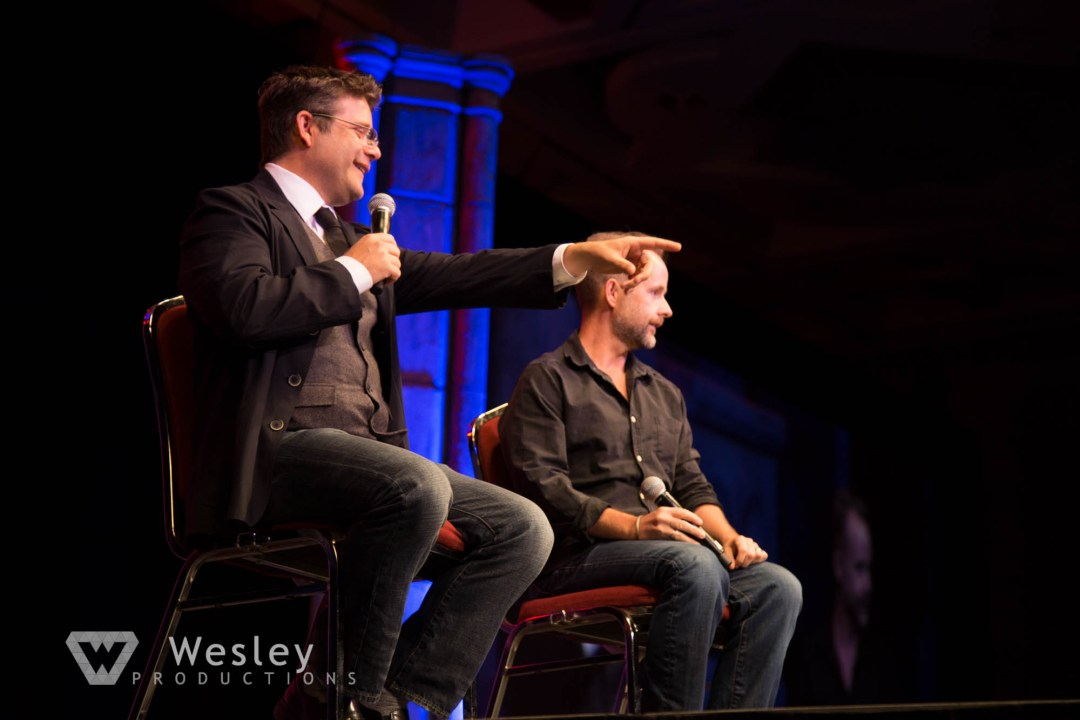 Sean Astin and Billy Boyd- Fantasy Con 2014-9729