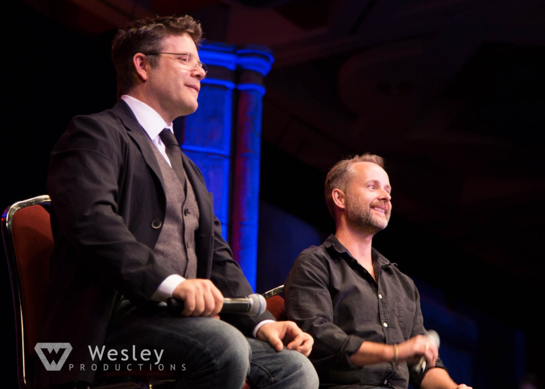 Sean Astin and Billy Boyd- Fantasy Con 2014-9743