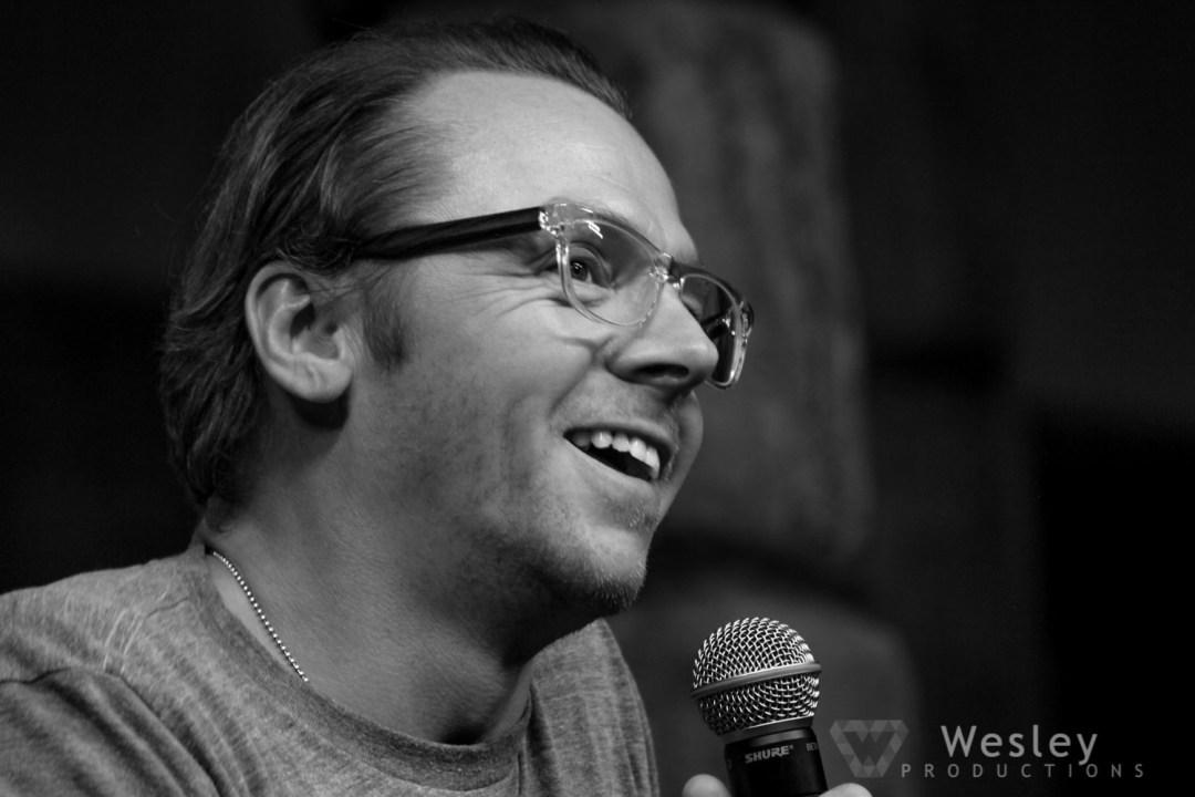 Simon Pegg SLC Fantasy Con 2014 -9695