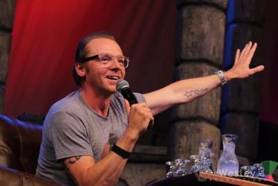 Simon Pegg SLC Fantasy Con 2014 -9750