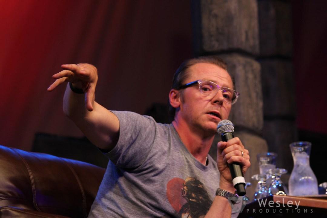 Simon Pegg SLC Fantasy Con 2014 -9755