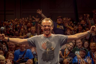 Simon Pegg Panel SLC Fantasy Con 2014