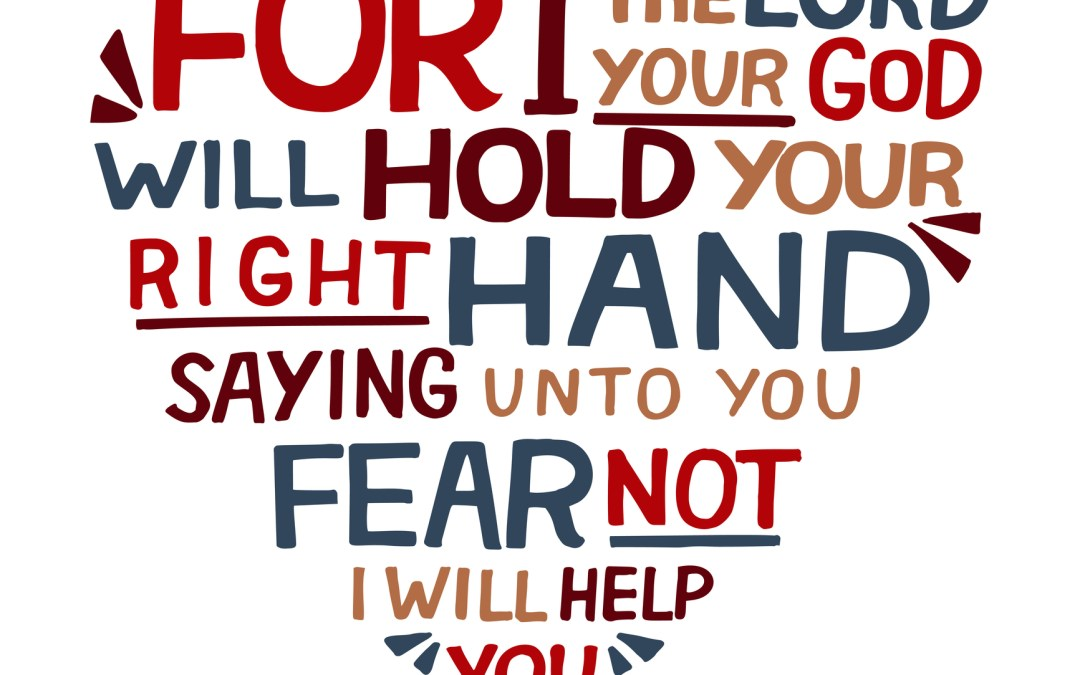 When I am afraid, I put my trust in you.