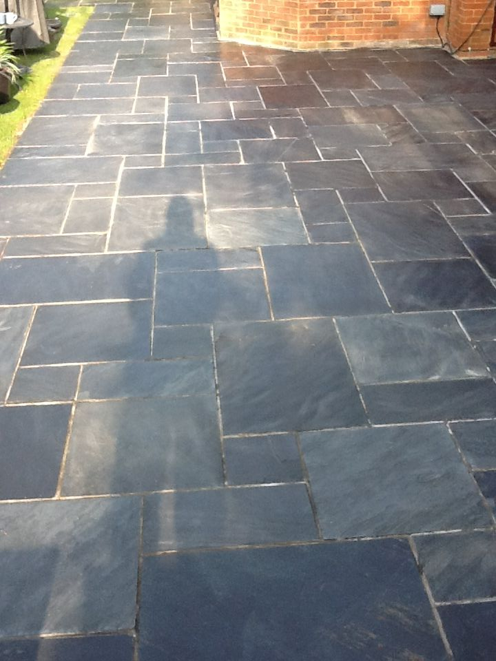 Patio Flooring Slate Patio Paving Restored | Tile Cleaners | Tile Cleaning
