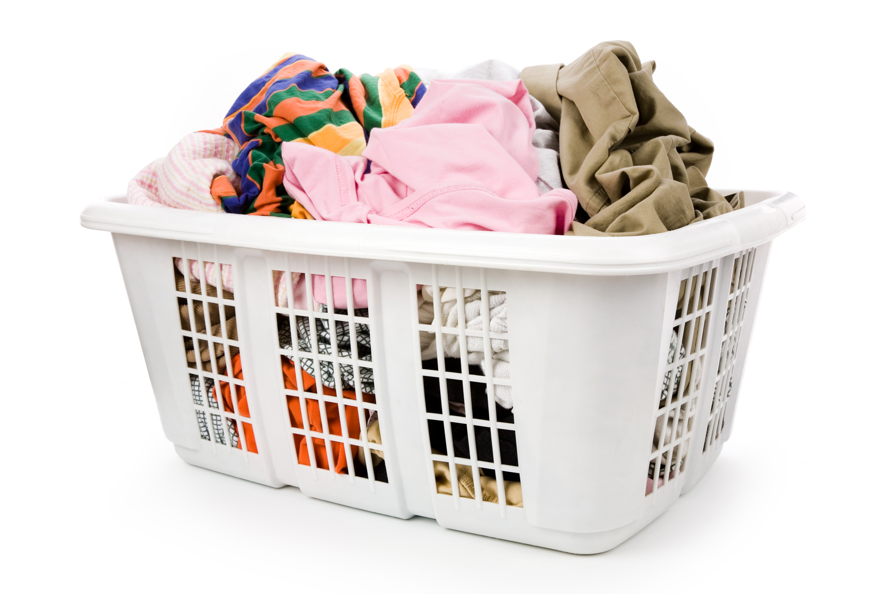 Clothes Baskets Using A Laundry Pickup And Delivery Service