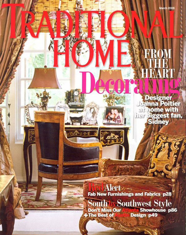 Interiors traditional home march 2008 westbrook interiors
