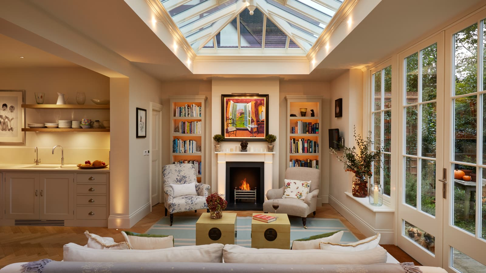 Modern Fireplace Images Amazing Modern Fireplace Designs For A Cosy Orangery This Winter