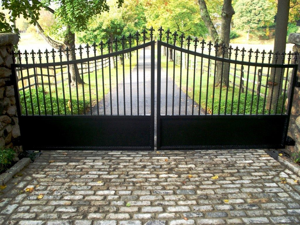 Iron Shop Iron Gates Westchester Automated Gate