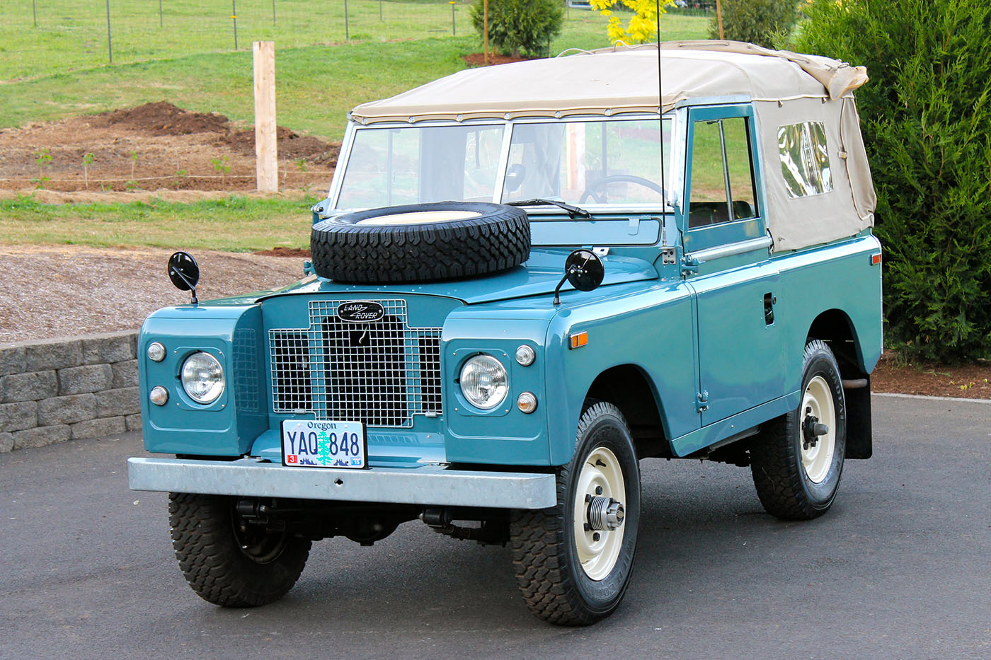 spotted land rover series iia 88 for sale west county. Black Bedroom Furniture Sets. Home Design Ideas