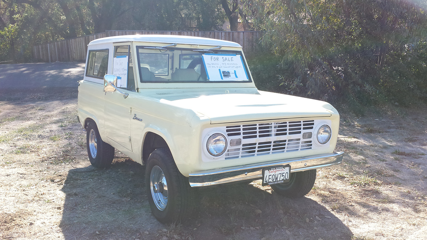 Ford Bronco For Sale Craigslist >> Spotted: 1966 Ford Bronco For Sale // West County Explorers Club