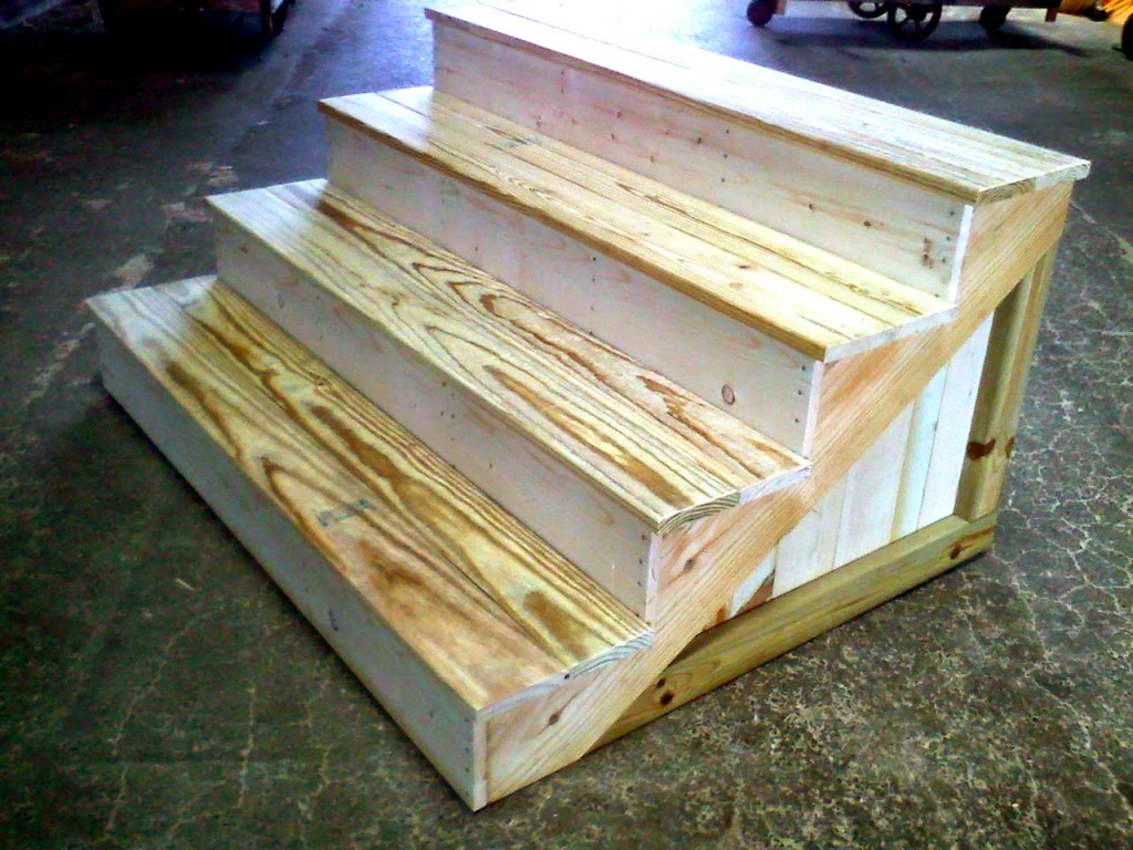 Wooden Steps Cleveland 39s Full Service Lumberyard West End Lumber