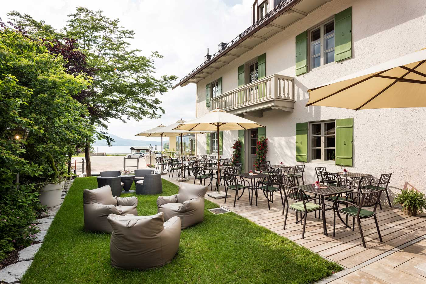 Haus Tegernsee Dish Offers Of The Westerhof Cafe On Lake Tegernsee