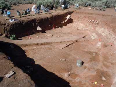 Great kiva at Dillard Site in Colorado