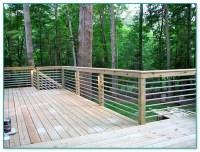 Galvanized Pipe Deck Railing
