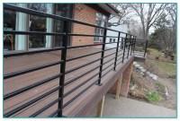Horizontal Metal Deck Railings