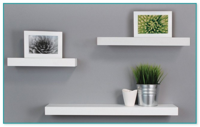White Floating Shelves Off White Floating Shelves