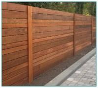 Horizontal Steel Fence Designs