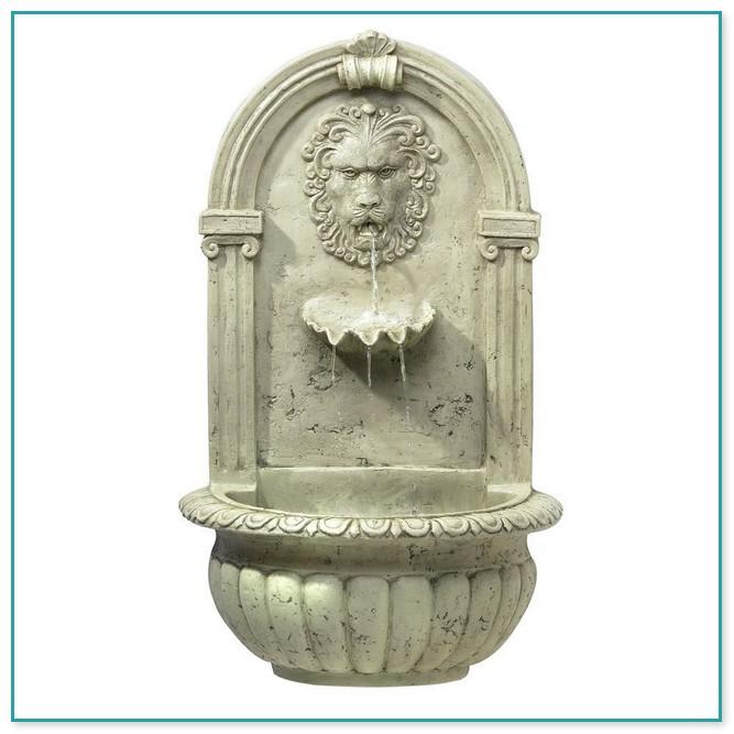 Wall Mounted Fountain Heads