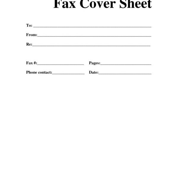fax cover letter templates - Towerdlugopisyreklamowe