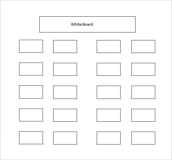 blank wedding seating chart template - Pinarkubkireklamowe