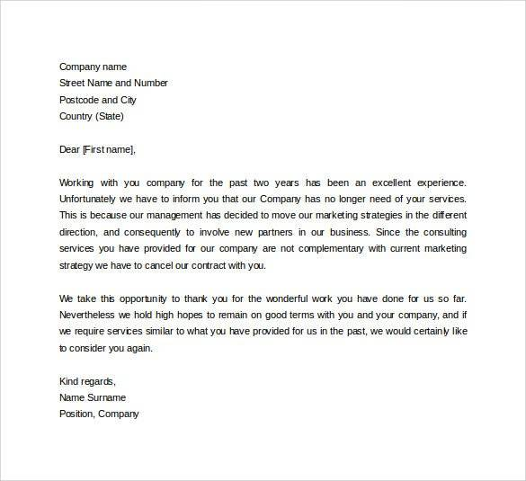 Formal Business Letter Templates Business Mentor