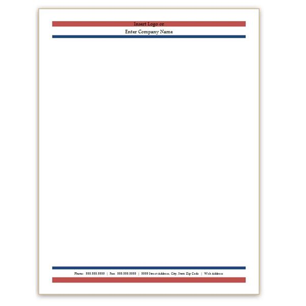 Free Letterhead Templates Microsoft Word Business Mentor - free business stationery templates for word