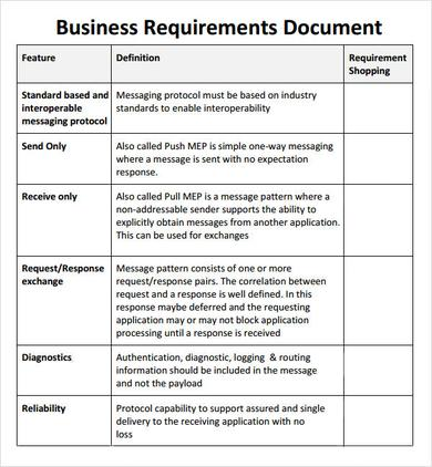 Business requirements document template colbro simple business requirement document template business mentor wajeb Images