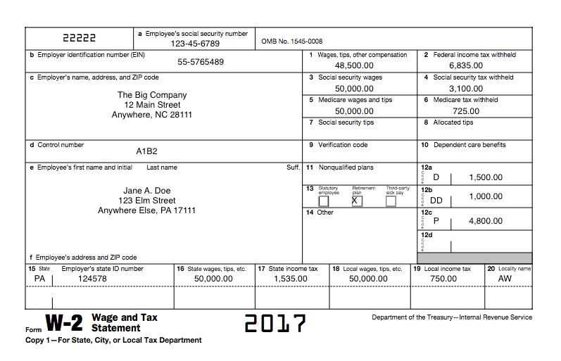 w2 printable template