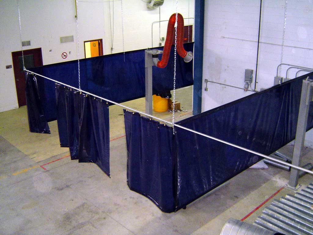 Industrial Curtain Tracks Industrial Curtains And Track