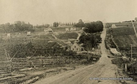Overview of Rawdon, NS