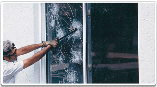 Shatter Proof Window Film Westmount Commercial Security